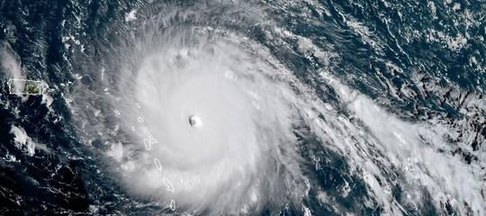 Uragano Irma punta su Cuba. Su Twitter foto-collage di Paolo Nespoli