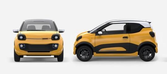 Storia dell'auto elettrica made in Puglia, nata dalla chiusura di una fabbrica di carrelli. Tua