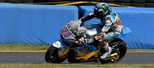 Motomondiale: a San Marino vince Marquez e aggancia in vetta Dovizioso, terzo dietro a Petrucci
