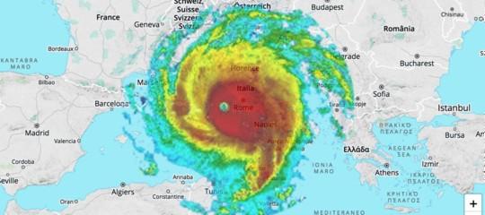 Se Irma fosse in Italia, l'avrebbe coperta tutta