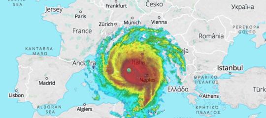 L'Italia e la differenza fra una pioggia e un uragano