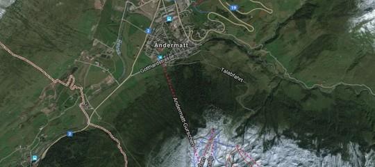 Svizzera: scontro tra un treno e una locomotiva ad Andermatt , 27 feriti