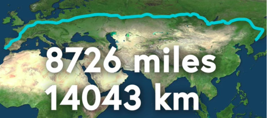 Questo è forse il viaggio più lungo che potreste fare guidando un'automobile