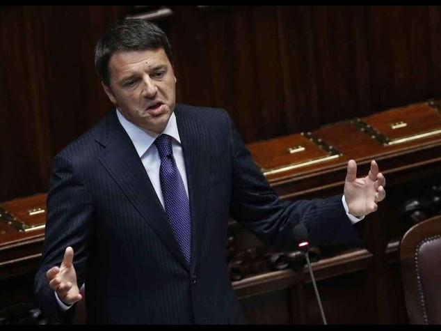 """Renzi alla Camera - Diretta -  Millegiorni """"e' ultima chance"""""""