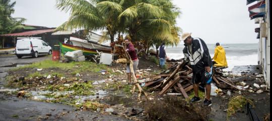 La furia degli uragani sui Caraibi, Maria è peggio di Irma. E Jose colpisce New York