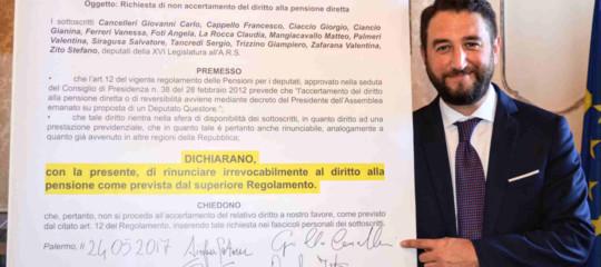 La sospensione di Cancelleri in Sicilia lascia tutto esattamente come prima
