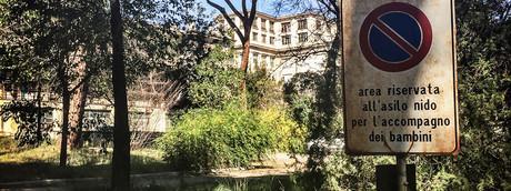 Roma, stato di abbandono ospedale Carlo Forlanini (Agf)