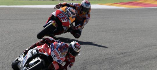 Moto Gp: Marquez vince e stacca Dovizioso in classifica. Vale Rossi quinto