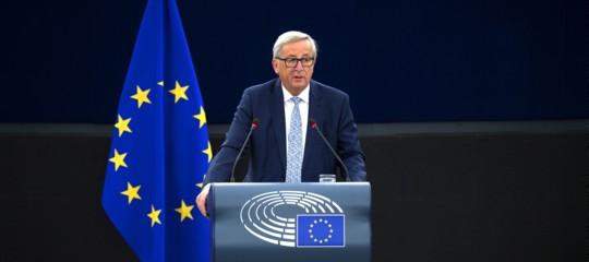 """Germania, Juncker: """"Ue ha bisogno di governo tedesco forte"""""""