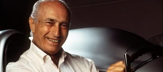 I figli di Juan Manuel Fangio al Museo Mille Miglia di Brescia