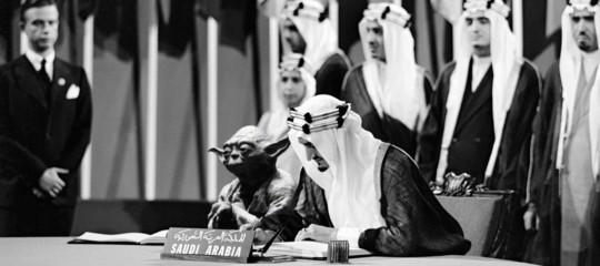 Un fotomontaggio del re Faysal con Yoda è costato il posto a un intero dipartimento del governo saudita