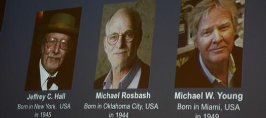 Nobel: Medicina a 3 americani per gli studi sull 'orologio biologico'