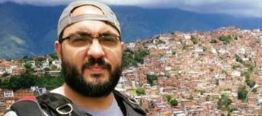 Rilasciato il giornalista italiano arrestato in Venezuela