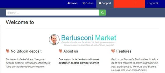 Nel lato oscuro del web c'è un mercato (virtuale) intitolato a Berlusconi