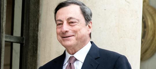 Draghi difende il 'bazooka': creati 7 milioni di posti di lavoro