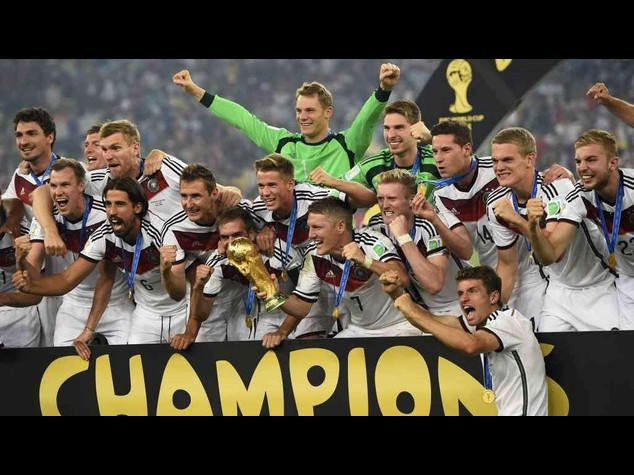 Germania campione per la quarta volta, 1-0 all'Argentina