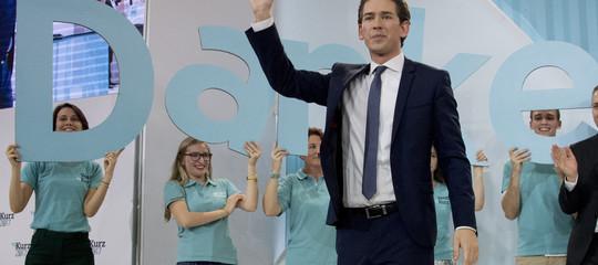 L'Austria del giovane Kurz conferma la virata a destra dell'Europa