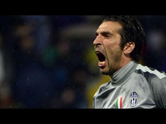 """Buffon, """"Addio di Conte a Juve e' fulmine a ciel sereno"""""""