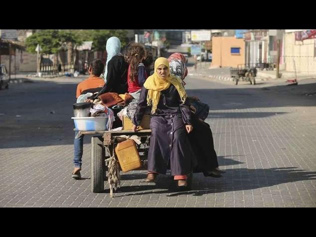Israele avverte Gaza:pronta l'offensiva di terra, abbandonate le case