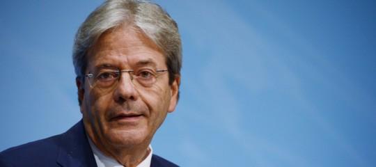 """Ue. Gentiloni: """"L'Italia è dalla parte dell'Europa"""""""