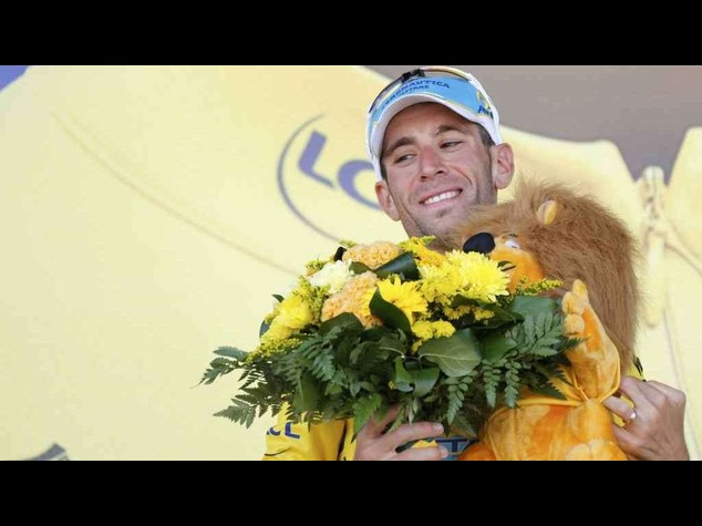 Cycling: Vincenzo Nibali wins 13th stage of Tour de France