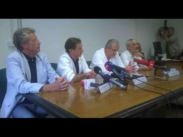 Ciampi: quadro clinico serio ma stabile, prognosi riservata