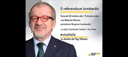 'Viva l'Italia' riparte da Milano. Tavola rotonda sul referendum