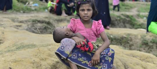 Unicef: 12 mila bambini rohyngia fuggono dal Myanmar ogni settimana