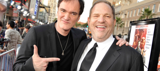 Un'altra italiana (anonima) denunciaWeinstein. E Tarantino fa mea culpa