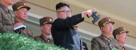 Kim jong-un leader nordcoreano - foto Afp