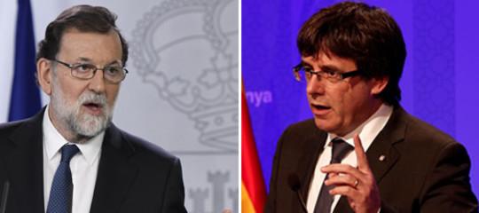 Rajoy tira dritto. Puigdemont pure. Cosa sta succedendo in Spagna