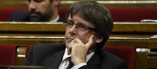 Catalogna:Parlamentconvocato giovedì, sul tavolo l'indipendenza