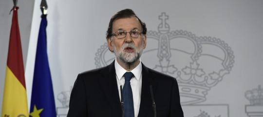 "Catalogna: Rajoy ""destituirò Puigdemont, al voto entro 6 mesi"""