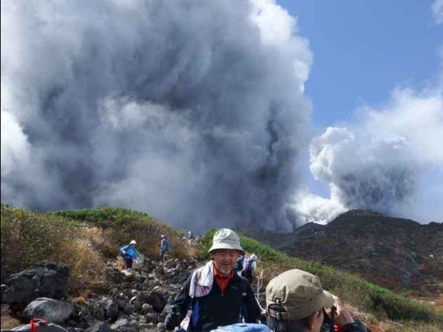 Giappone: 30 escursionisti feriti gravi vicino a vulcano Oktaki - Video