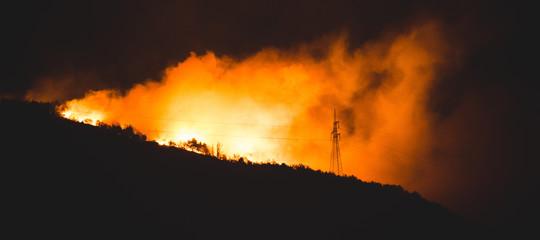 Quanto è grave la situazione incendi in Piemonte