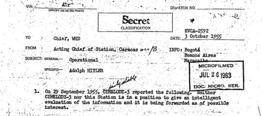 Su Hitler la notizia veramente nuova è un'altra e risale al 1919