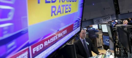 Usa: la Fed lascia i tassi invariati tra 1 e 1,25%