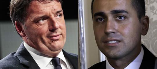 """Renzi e Di Maio, sfida all'O.K. Twitter: """"Vediamoci il 7 novembre"""""""