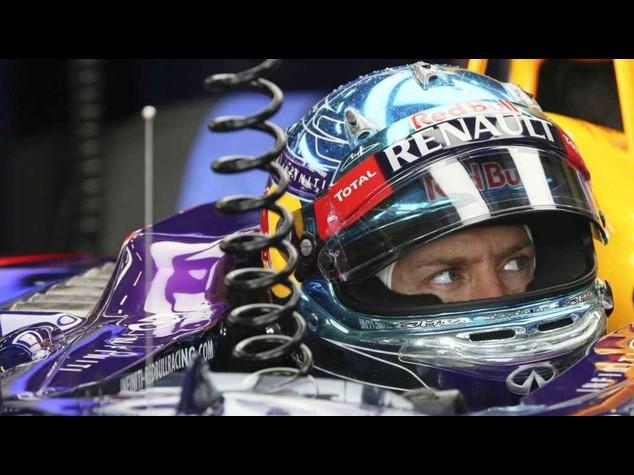"""F. 1: gp Gran Bretagna. Vettel """"abbiamo rischiato, e' andata bene"""""""