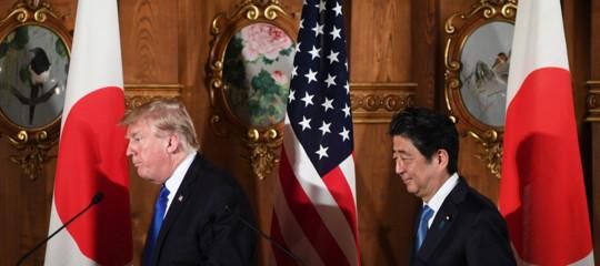 """Nord Corea: Trump, la pazienza strategica è finita. Abe, """"abbatteremo i missili"""""""