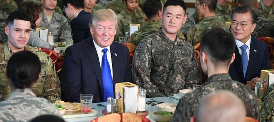"""Trump ottimista sulla crisi nordcoreana: """"Alla fine tutto si aggiusterà"""""""