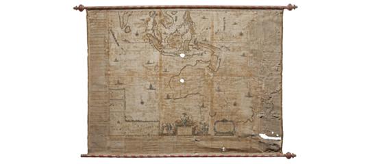 La mappa più vecchia d'Australia torna in vita dopo 350 anni di sepoltura (in un magazzino svedese)