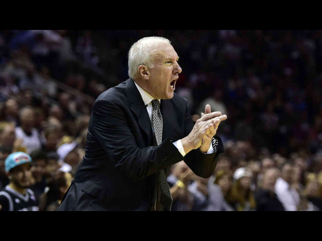 Basketball: Popovich renews contract with NBA's Spurs