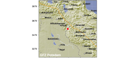 Iraq: forte scossa terremoto 7,2 a confine con Iran