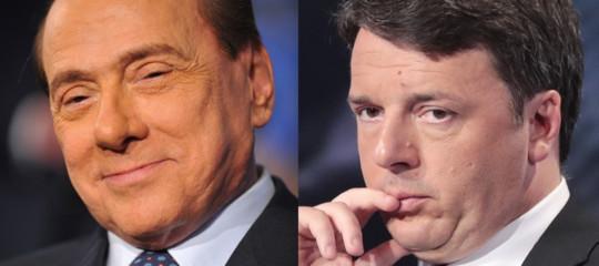 Il primo vero terreno di scontro traRenzie Berlusconi sono le banche. E Draghi