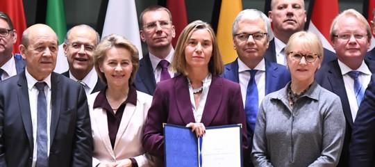 Chi è dentro e chi è fuori dalla difesa comune dell'Ue