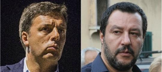La débacle della Nazionale fa litigare Renzi e Salvini su Facebook