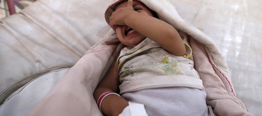 In Yemen si sta consumando la più grave epidemia di colera della storia recente