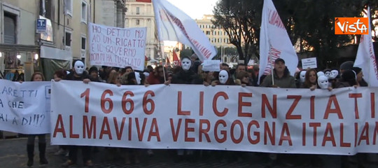 Il Tribunale reintegra 153 lavoratori di Almaviva