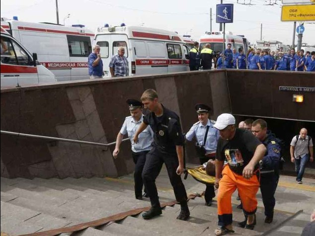Two engineers arrested following Moscow metro disaster